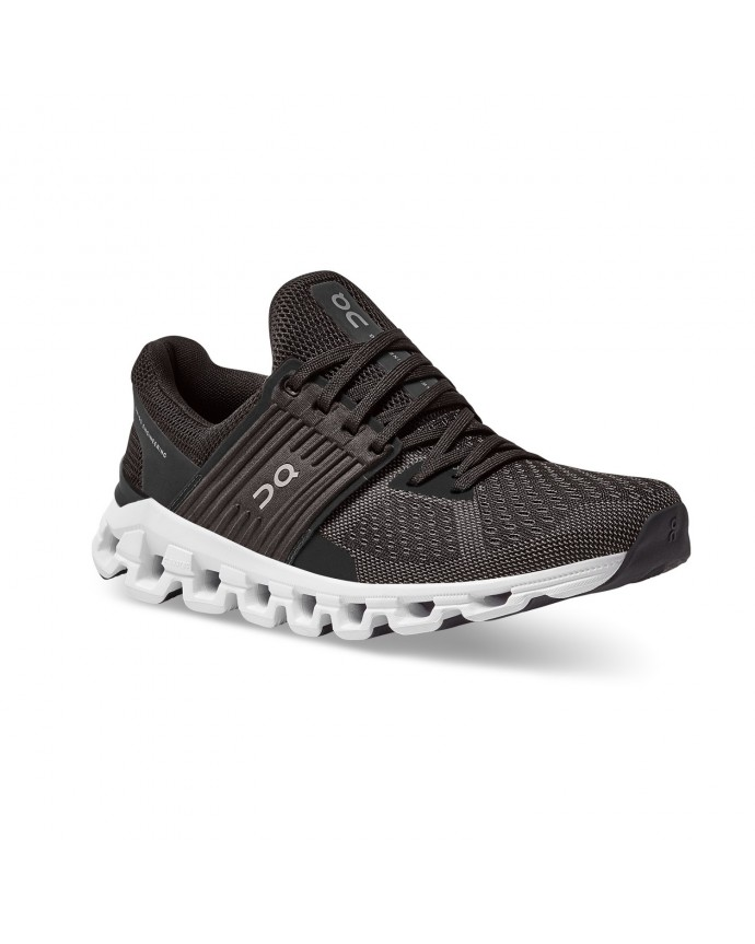 Cloudswift Running Shoes On Woman Black/Rock 2020