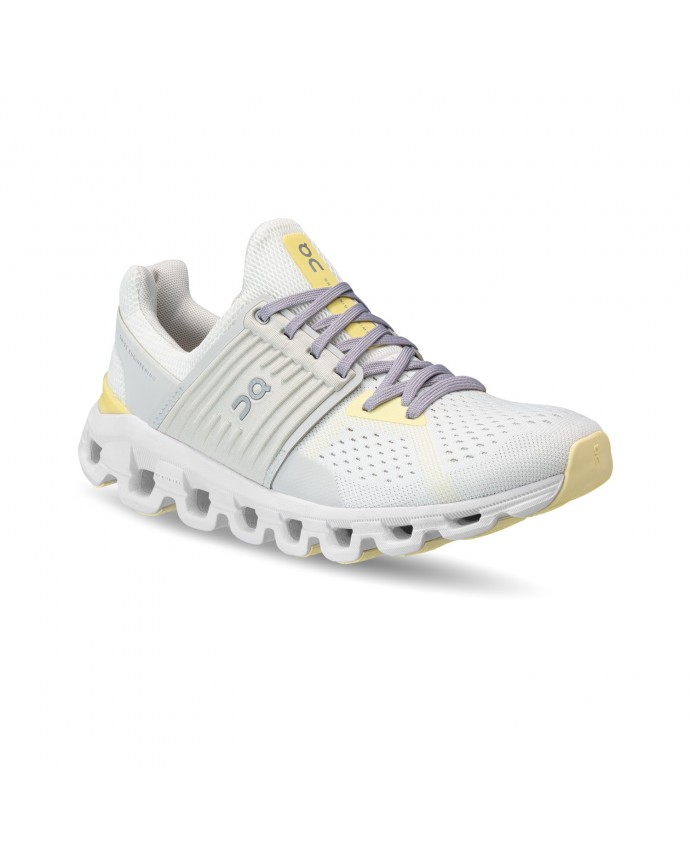 Cloudswift Running Shoes On Woman White/Limelight