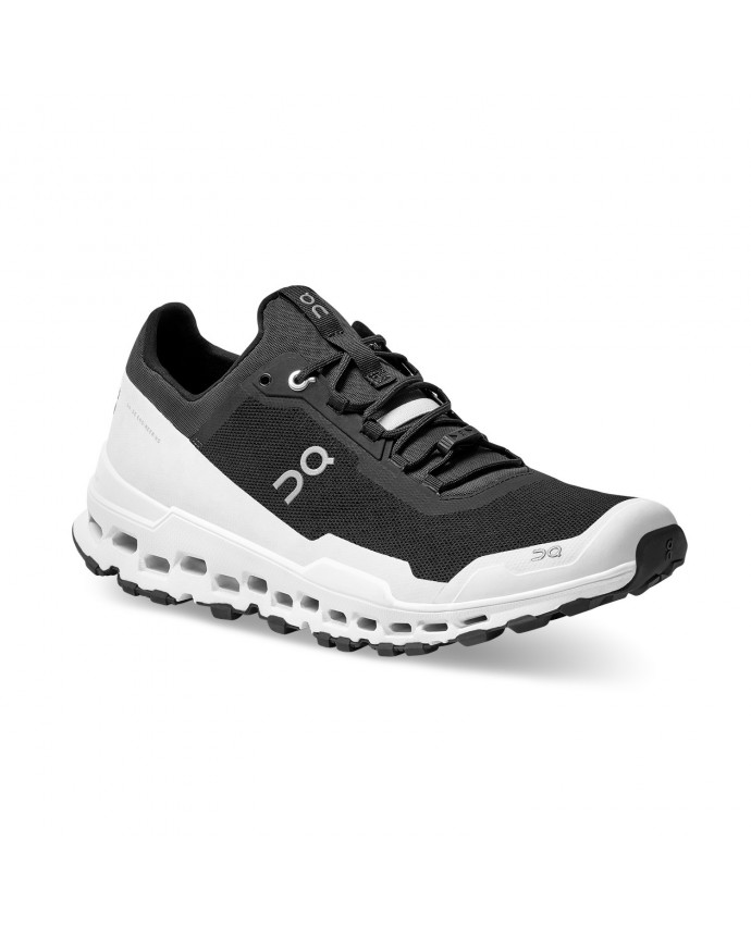 Cloudultra Running Shoes On Man Black/White