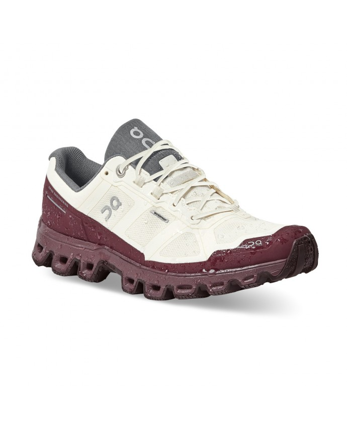 Cloudventure Waterproof Running Shoes On Woman White/Dawn