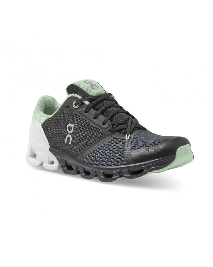 Cloudflyer Running Shoes ON Woman White Black/White