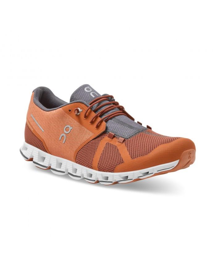 Cloud Running Shoes ON Man Russet/Cocoa 2021