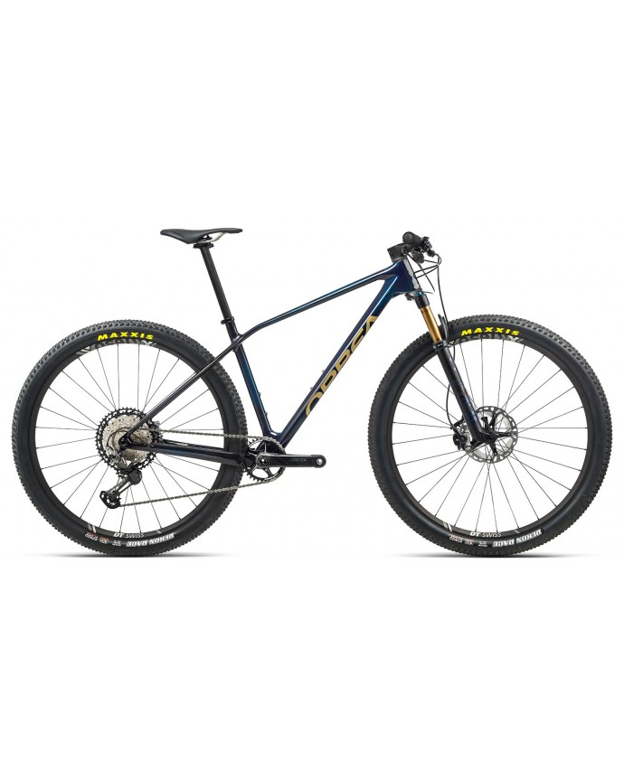 Orbea Alma M-TEAM Blue Carbon/Golden